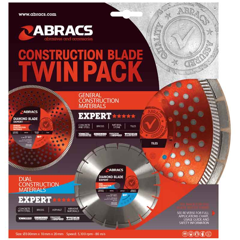Construction Blade Twin Pack Expert