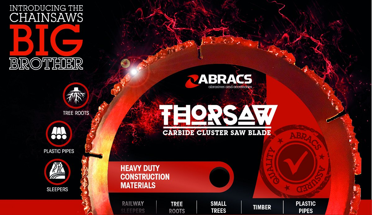Thorsaw Carbide Cluster Blade has landed!