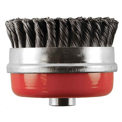 Wire Brushes Twist Knot Cup